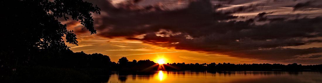Foto eines Sonnenuntergangs...