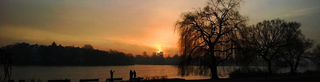 Foto eines Sonnenaufgangs