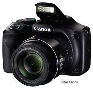 Canon Digitalkamera Superzoom PowerShot SX540 HS