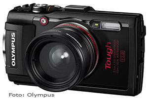 Bild der Olympus Outdoorkamera Tough TG-4